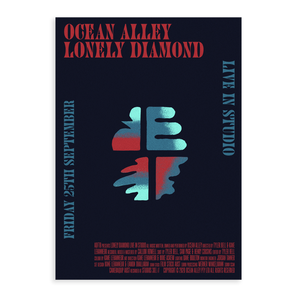 Lonely Diamond - Live In Studio A2 Poster #2