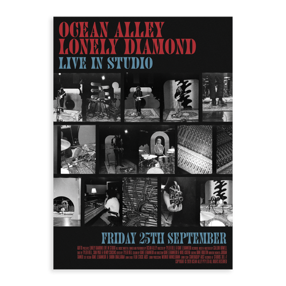 Lonely Diamond - Live In Studio A2 Poster #4