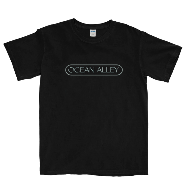 Chrome Logo Tee (Black)