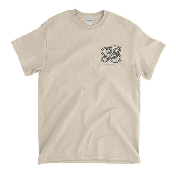 Mono Snake Pocket Tee (Natural) + Album Digital Download // PREORDER