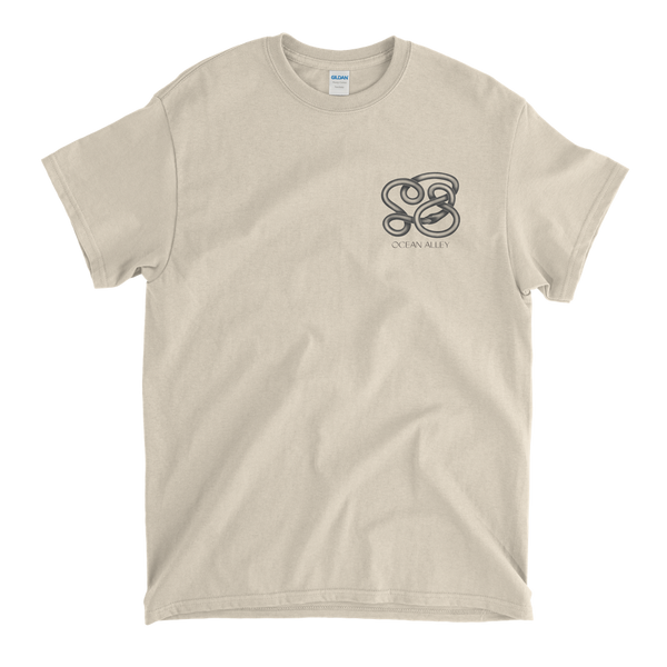 Mono Snake Pocket Tee (Natural)