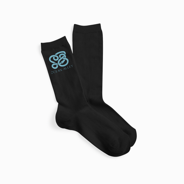 Snake Socks (Black) // PREORDER