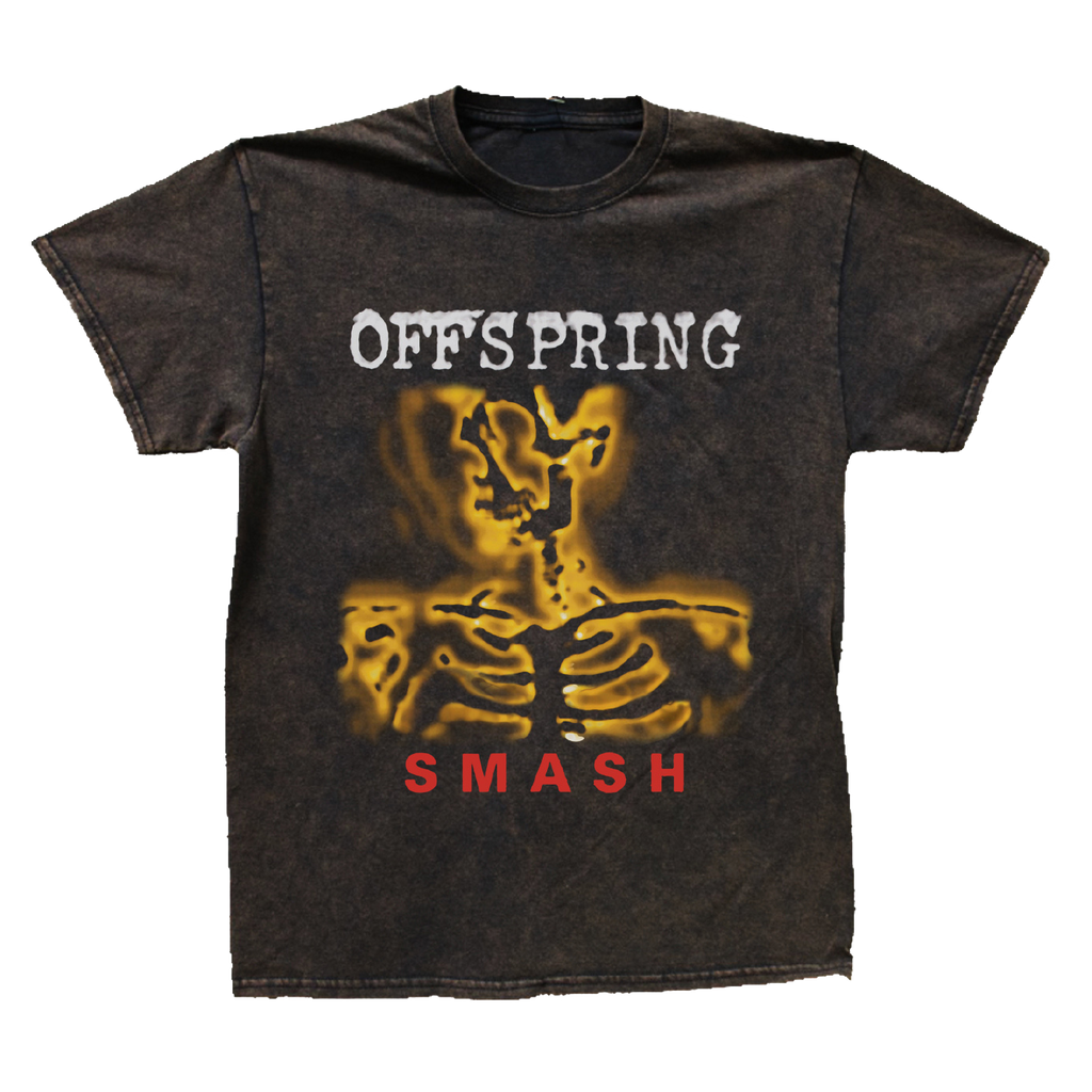 Smash Tee (Black Vintage Wash)