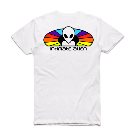 Intimate Alien Tee (White)