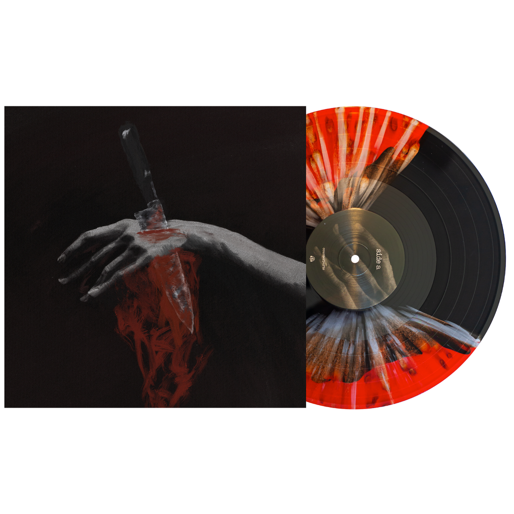 "Nothing Left to Love 12"" Vinyl (Black & Blood Red Butterfly w/ Silver Splatter)"