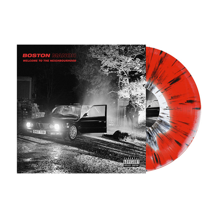 "Welcome To The Neighbourhood 12"" Vinyl  (White / Red  w/ Black Splatter)"