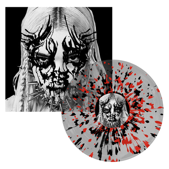 "I Disagree 12"" Vinyl (Clear With Black And Red Splatter) // PREORDER"