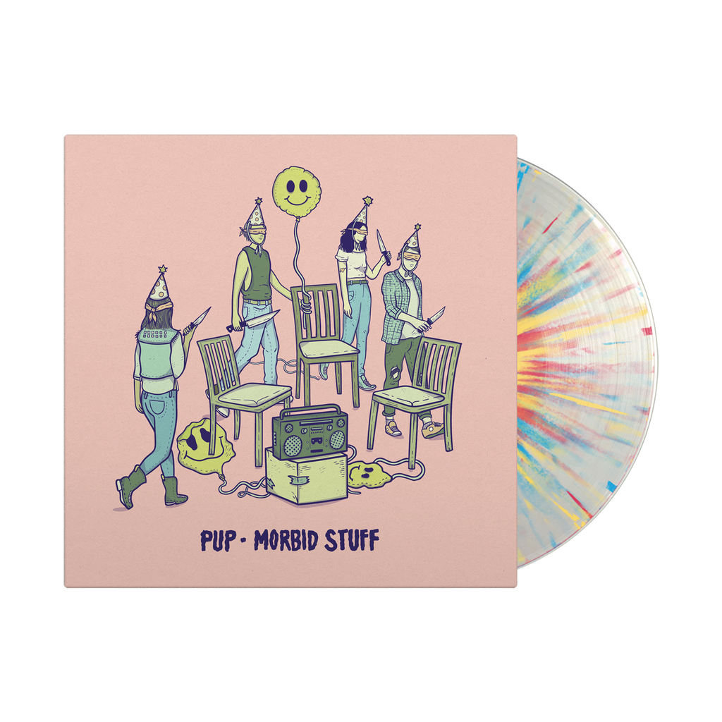 "Morbid Stuff 12"" Vinyl LP (Clear with multi splatter)"