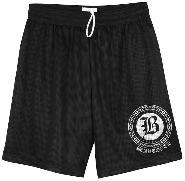 Chain Logo Mesh Shorts