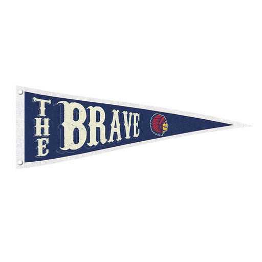 The Brave Official Merch - The Brave Pennant Flag