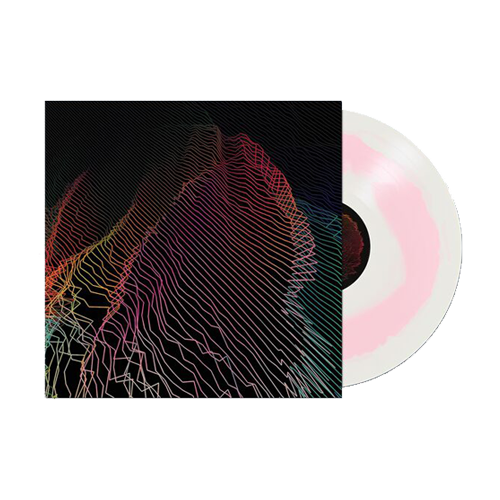 "Hundredth merch Rare 12"" Vinyl (A Side Cloudy Clear/ B Side Light Pink)"