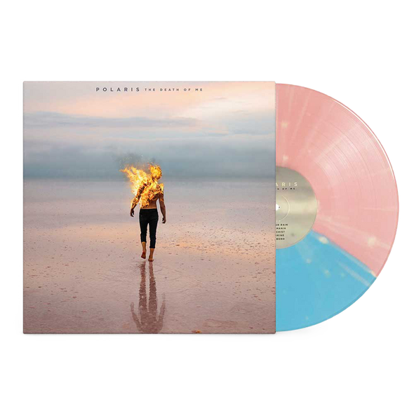 "The Death Of Me 12"" Vinyl (Half Baby Pink/Half Baby Blue w/ Bone Splatter)"