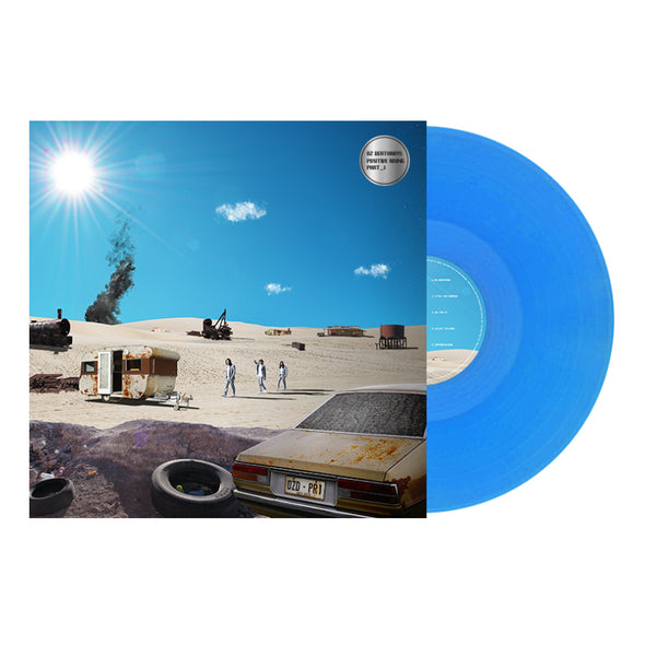 "Positive Rising: Part 1 12"" Vinyl (Limited Blue Vinyl) // PREORDER"