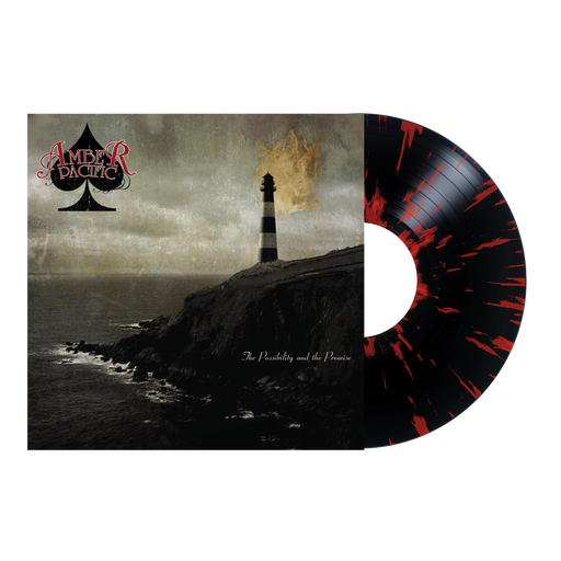 "Amber Pacific Official Merch - The Possibility And The Promise 12"" Vinyl (Red w/ Black Splatter)"