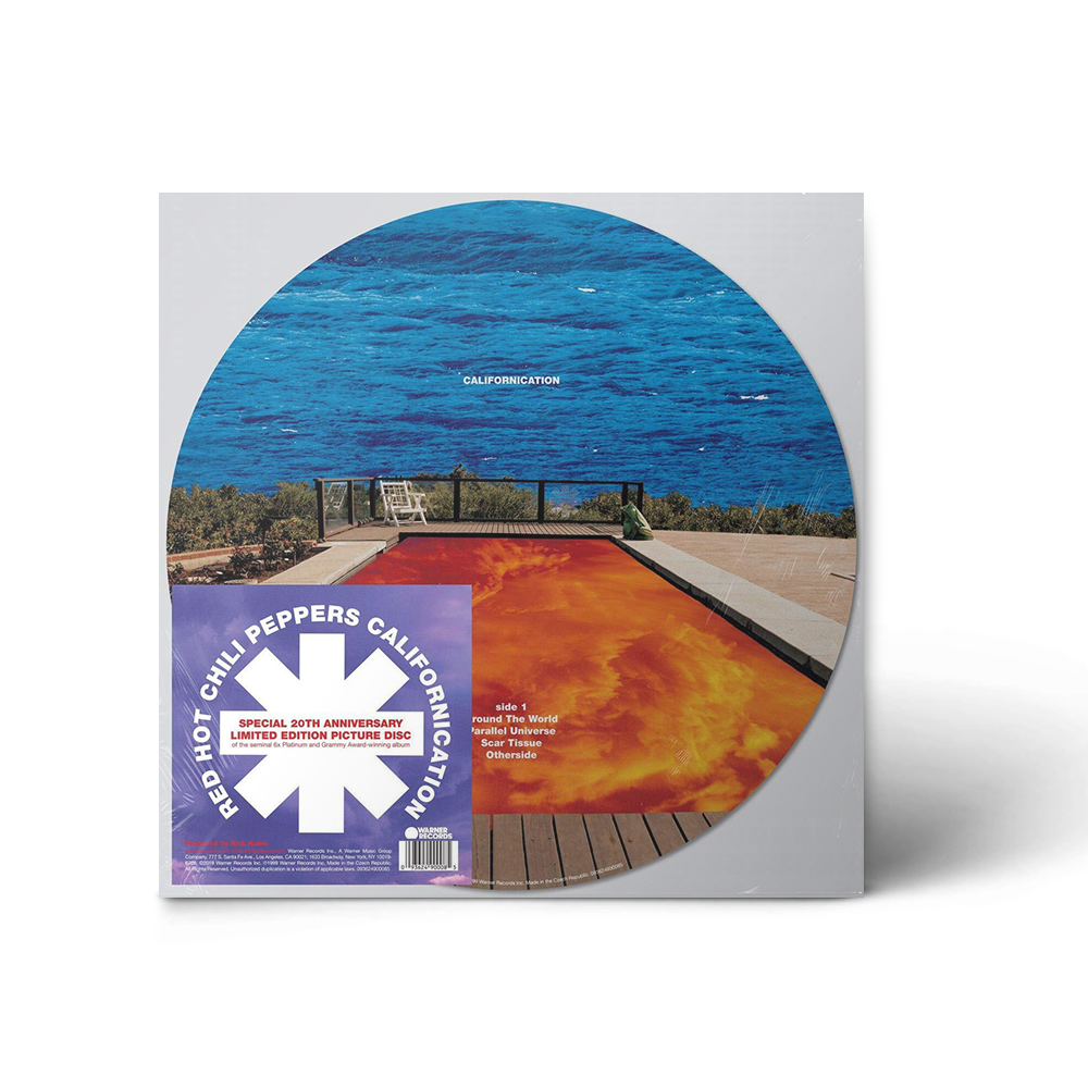 "Californication 12"" Vinyl (Limited Edition Picture Disc)"