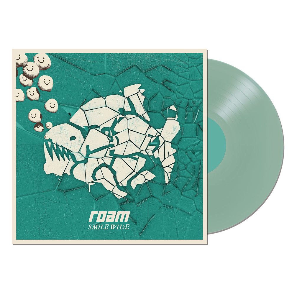 "Smile Wide 12"" Vinyl LP (Transparent Sea Green)"