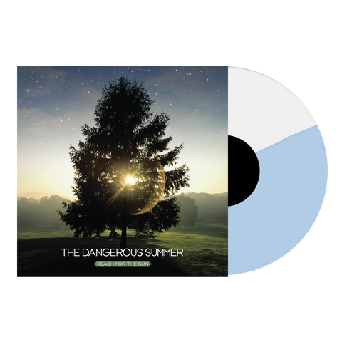 "Reach For The Sun 12"" Vinyl (White + Light Blue Half/Half)"