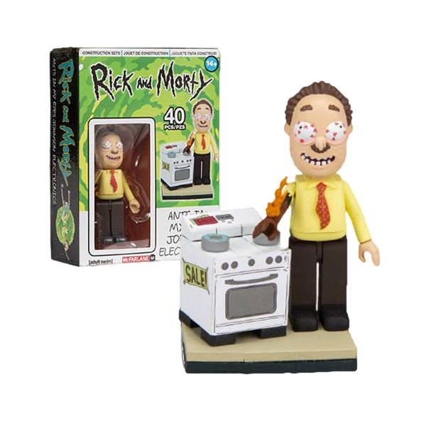 Rick and Morty - Ants In My Eyes Johnson's Electronics Micro Construction Set