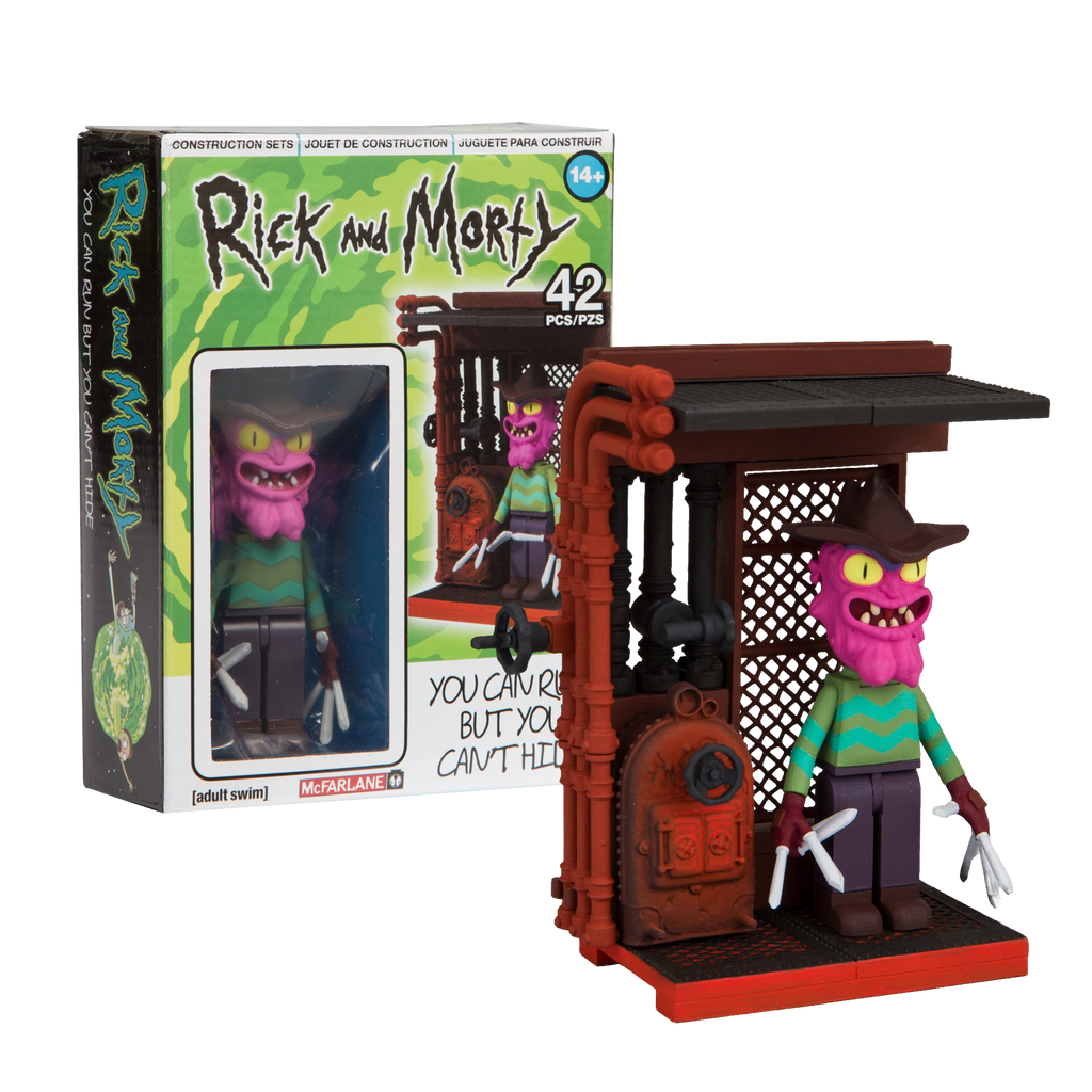 Rick and Morty - You Can Run But You Can't Hide Micro Construction Set