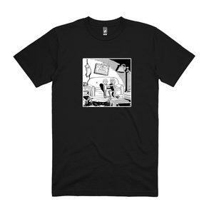 Couch Gag Mishap Tee (Black)