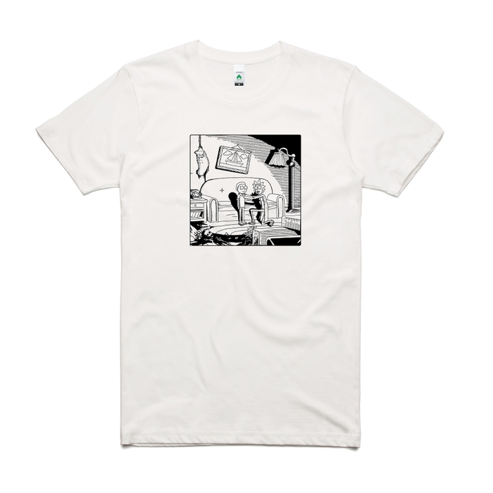 Couch Gag Mishap Tee (White)