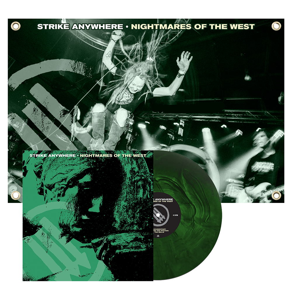 Nightmares of the West LP + Flag Bundle // PREORDER