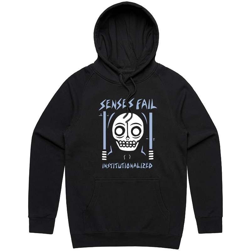 Institutionalized Hoodie (Black)