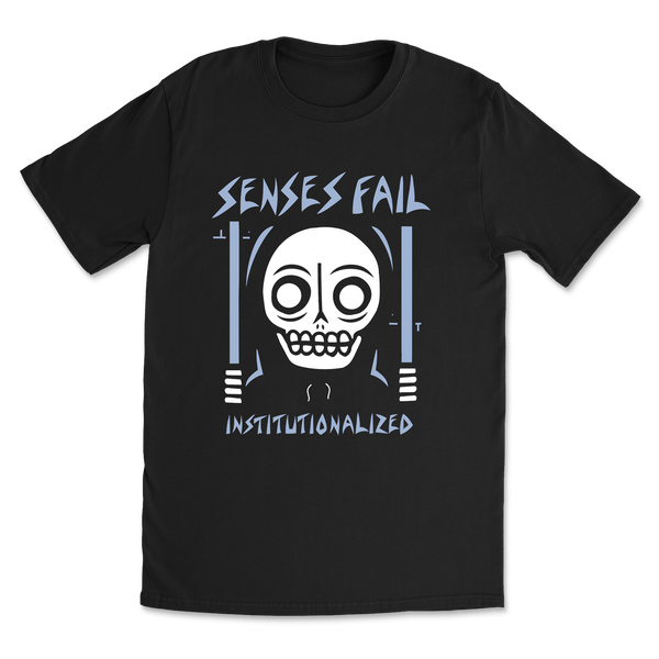 Institutionalized Tee (Black)