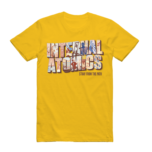 Internal Atomics Tee (Yellow) // PREORDER