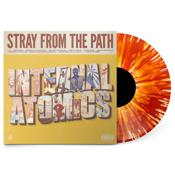 "Internal Atomics 12 "" Vinyl (Orange with White Splatter)"
