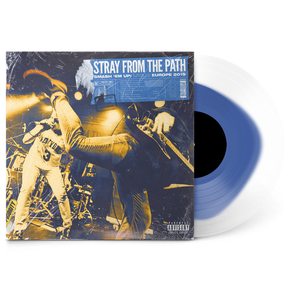 "Smash 'Em Up: Live In Europe 2019 12"" Vinyl (Transparent Blue in Ultra Clear) // PREORDER"