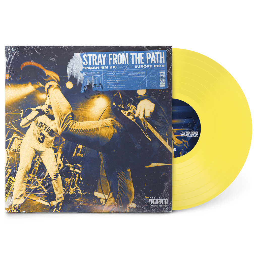 "Smash 'Em Up: Live In Europe 2019 12"" Vinyl (Transparent Yellow) // PREORDER"