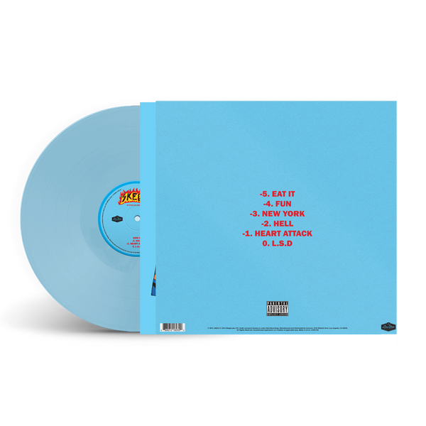 50 Push Ups For A Dollar LP (Sky Blue)