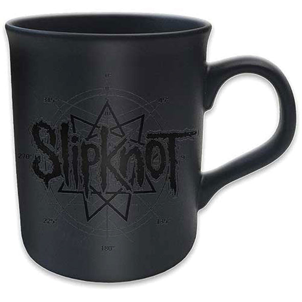Slipkot merch Star Logo Mug (Black)