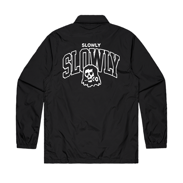 Skeleton Coach Jacket (Black)