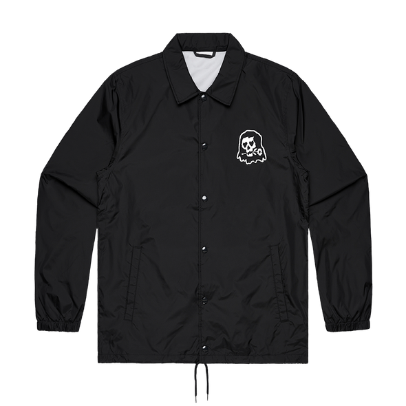 Skeleton Coach Jacket (Black) // PREORDER