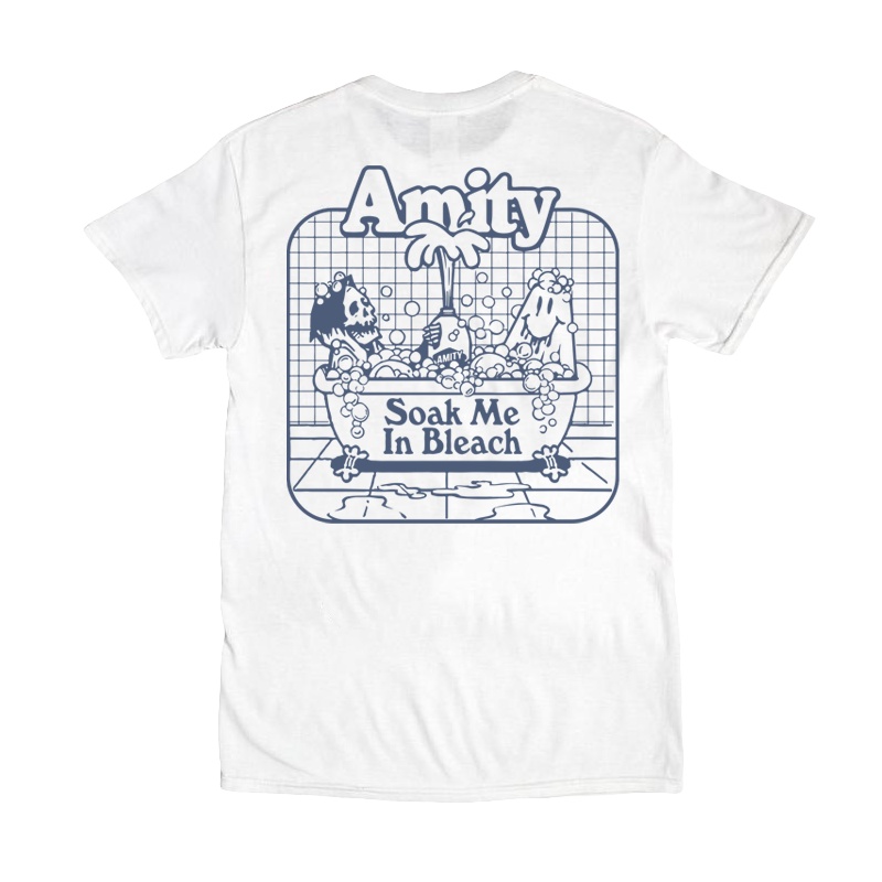 SMIB Bathtub Tee (White)
