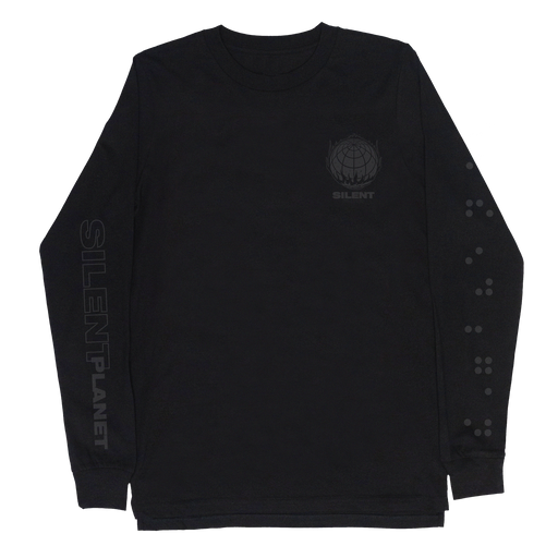 When The End Began Globe Long Sleeve (Black) // PREORDER