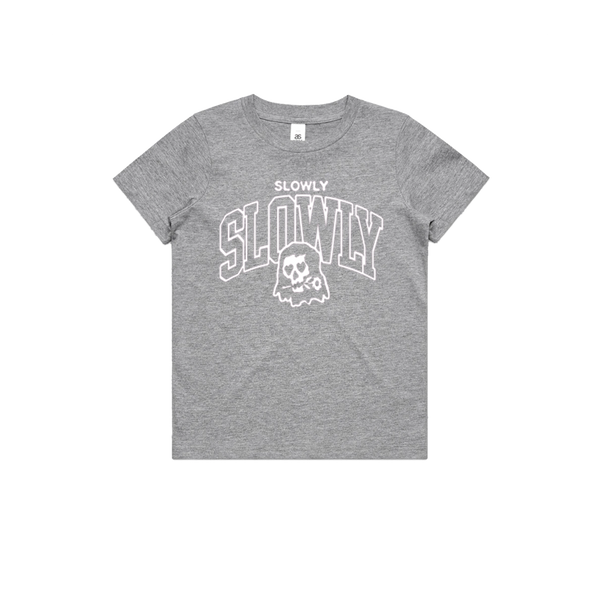 Skeleton Tee (Grey Marle)