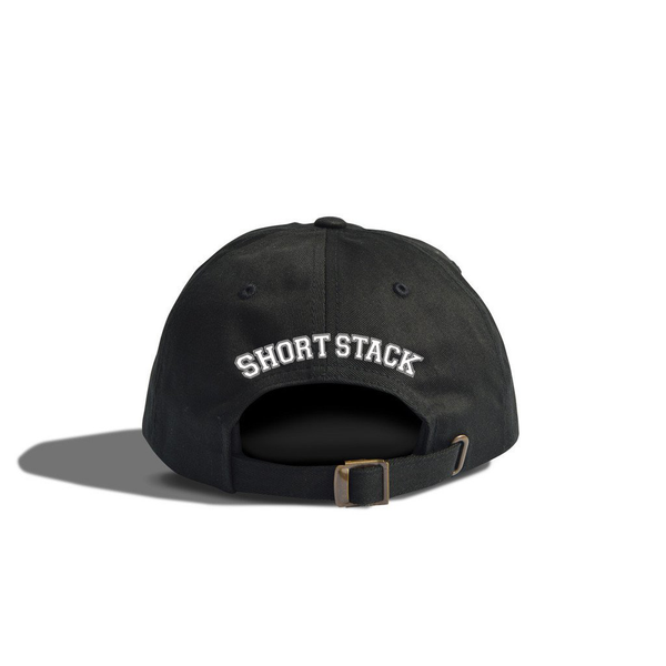 Skull Logo Dad Cap (Black)