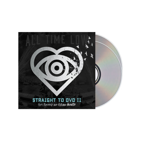 All Time Low Official Merch - Straight To DVD II: Past, Present and Future Hearts - CD/DVD