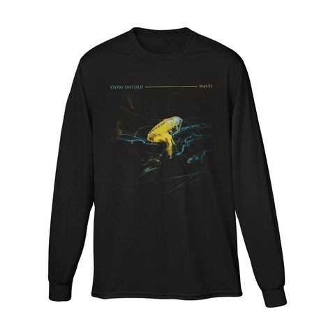 Waves Long Sleeve (Black)