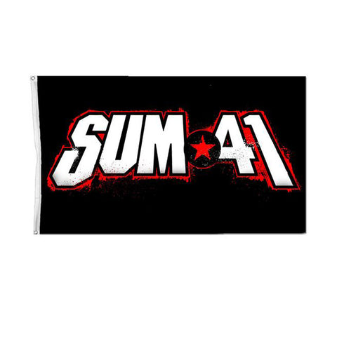 Sum 41 Official Merch - 13 Voices Flag