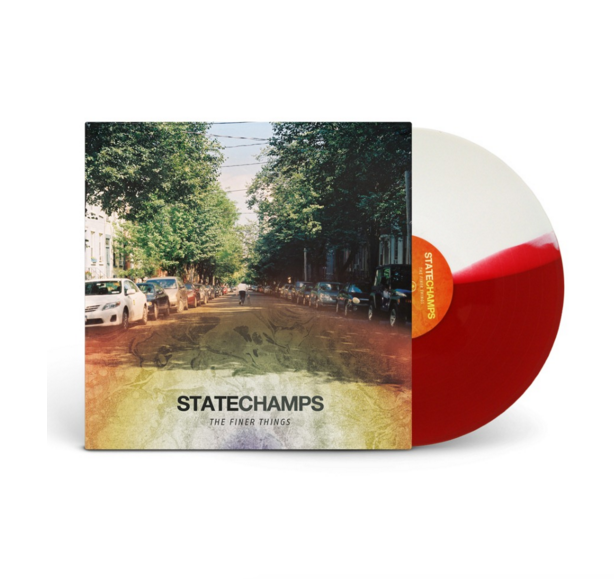 "State Champs Official Merch - The Finer Things (12"" Half White/Half Red Vinyl)"