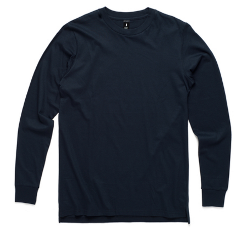 AS Colour Official Merch - AS Colour Longsleeve (Navy)