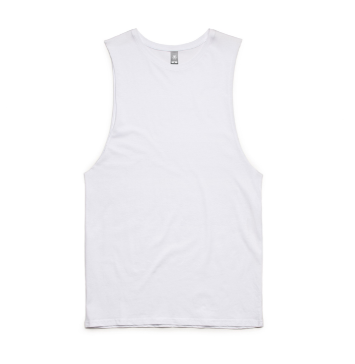 AS Colour Sleeveless (White)