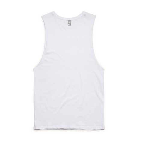 AS Colour Official Merch - AS Colour Sleeveless (White)