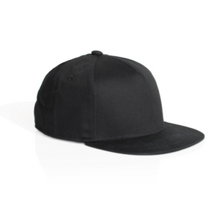 AS Colour Official Merch - Billy Panel Cap (Black)