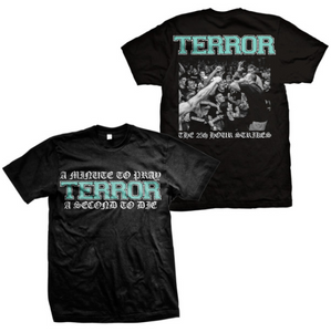 Terror Official Merch - A Minute To Pray T-Shirt (Black)