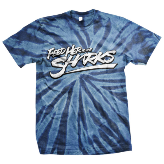 Feed Her To The Sharks Official Merch - FHTTS Logo T-Shirt (Tie Dye)